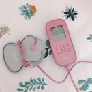 欧姆龙按摩仪粉色/白色